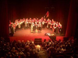 Actuación en Teatro Quintero